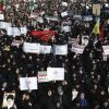 Iran responds to 3rd of protests with media blackout, 'pay the price' warnings