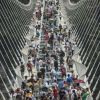 Chinese glass bridge, world's longest, closes