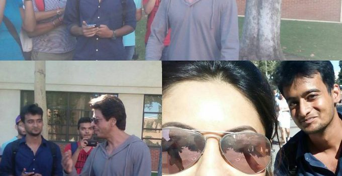Fans go gaga as they spot SRK, Gauri and Aryan at University of Southern California