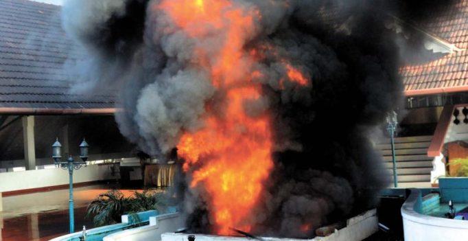Major fire throws Thiruvananthapuram into panic