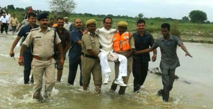Shivraj Singh Chouhan's mid air escapade triggers a flood of jokes on Twitter