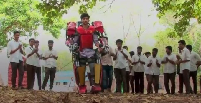 Kerala engineering student builds 'Iron Man' suit for science project