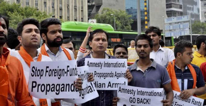 Amnesty temporarily closes India offices, postpones events after sedition row