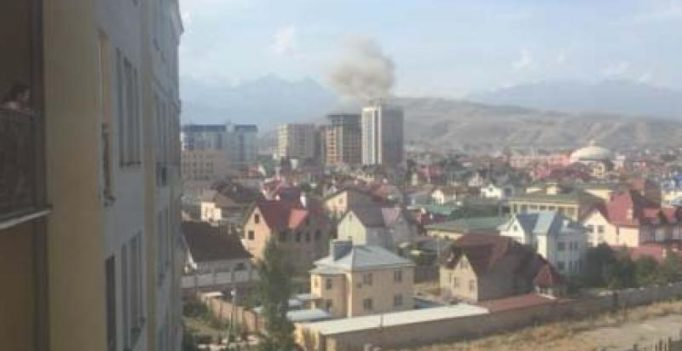 One dead, three injured in explosion at Chinese embassy in Kyrgyzstan