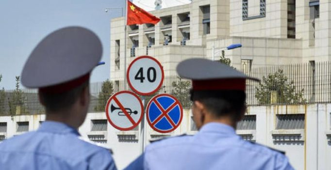 China condemns suicide attack at its embassy in Kyrgyzstan