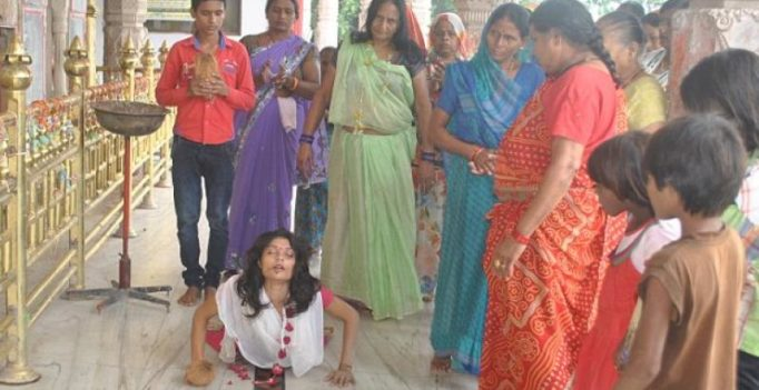 MP: 19-year-old college girl cuts off tongue as offering to goddess Kali