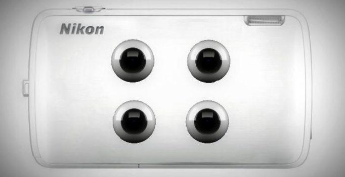 Nikon develops camera with 4 sensors