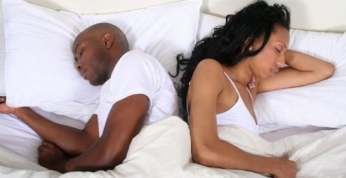 A rough patch in your relationship can have adverse effects on sleep