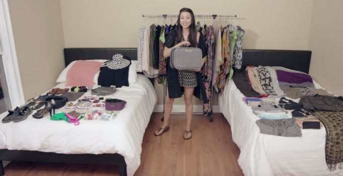Video: Here's how you can pack more than 100 items in your hand luggage