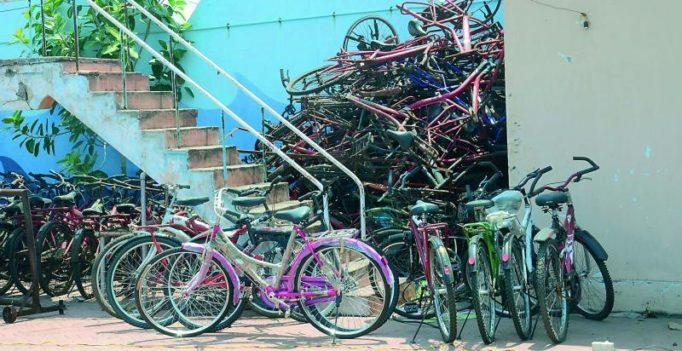 Visakhapatnam's cycling initiative gathers rust