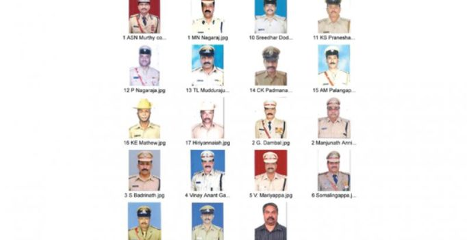 Karnataka: 19 policemen win President's police medals on Independence Day