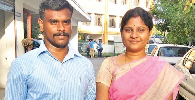 Intercaste couple crack Tamil Nadu Public Service Commission