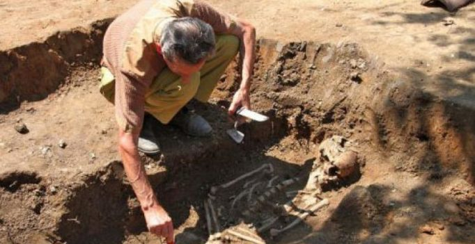 Archaeologists unearth mysterious magic spells with ancient skeletons in Serbia