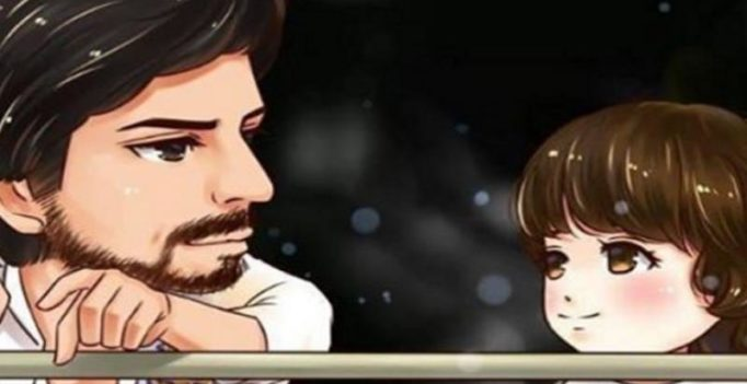 This caricature of Shah Rukh Khan and AbRam is the cutest thing you will see today