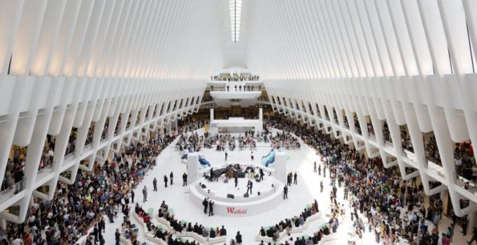 World Trade Center mall reopens, shows progress since 9/11