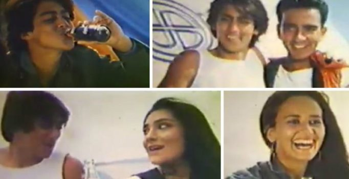 Watch: 15-year-old Salman Khan's first advertisement with Tiger Shroff's mother