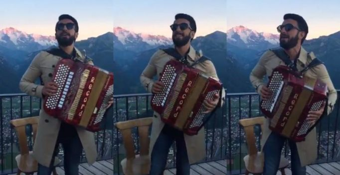 Ranveer singing this 90s Bollywood song is rib-cracking hilarious
