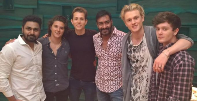 Ajay Devgn to collaborate with The Vamps on a new project