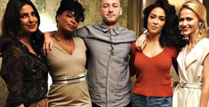 Priyanka Chopra looks classy in these new stills with her Quantico 2 squad!