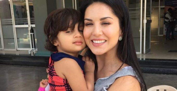 Watch: This kid just can't get enough of Sunny Leone