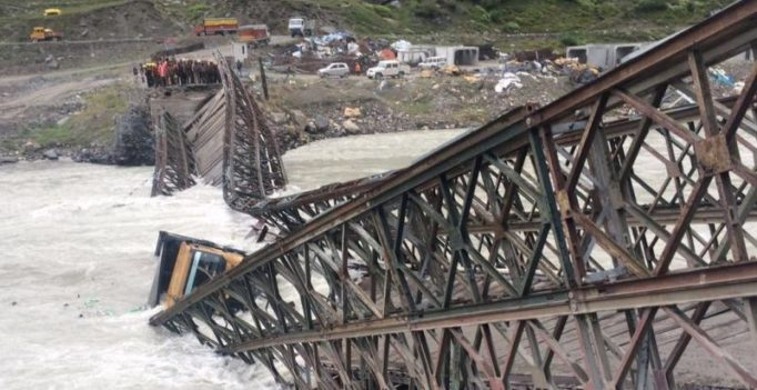Himachal Pradesh: Bridge near Rohtang tunnel project collapses