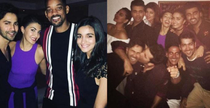 Inside pics: Will Smith parties hard with Alia, Varun and others at Akshay's house