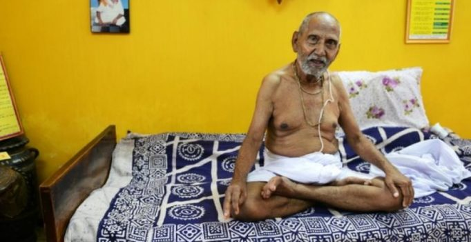 Indian 'oldest man ever' says yoga, celibacy key to age