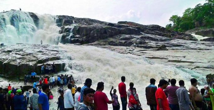Waterfalls come alive in Telangana after years-long gap