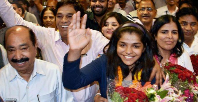 Sakshi Malik named ambassador for 'Beti Bachao, Beti Padhao' programme