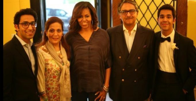 US hasn't reprimanded envoy over photo with Michelle Obama, says Pak