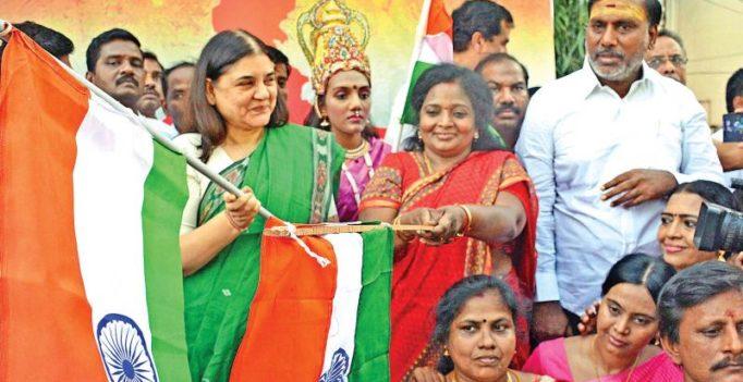 Pon Radhakrishnan, TN BJP oppose Maneka's remarks