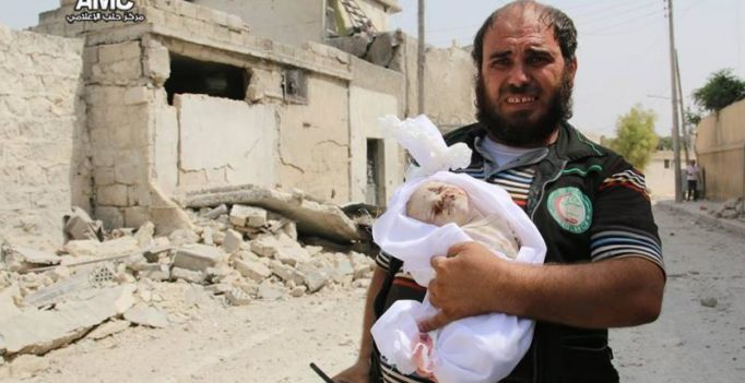 Syria: Haunting images show deadly bombing's aftermath; 11 kids killed