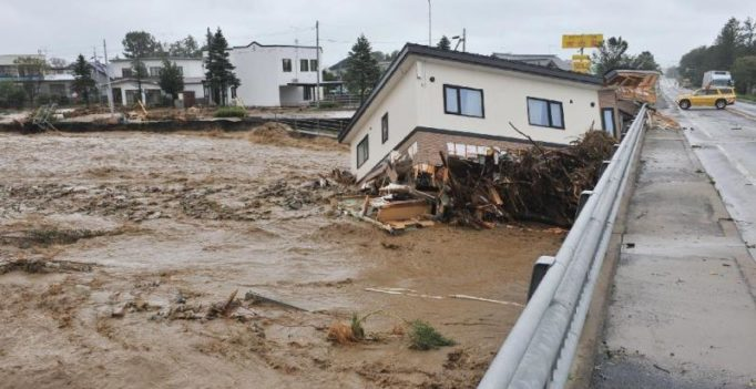 Japan: Typhoon Lionrock kills 9 in elderly home
