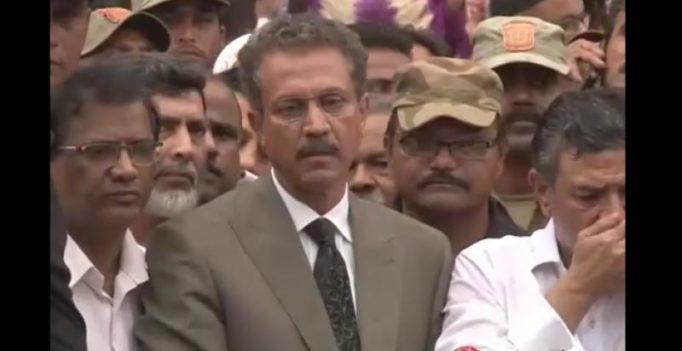 Jailed MQM leader Waseem Akhtar takes oath as Karachi mayor