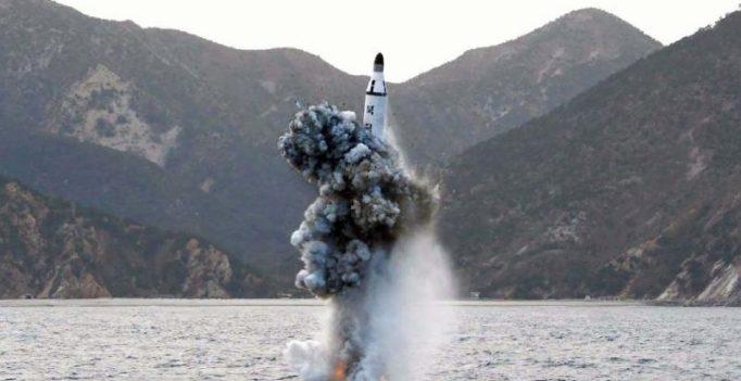 North Korea test-fires submarine-launched ballistic missile: South Korea