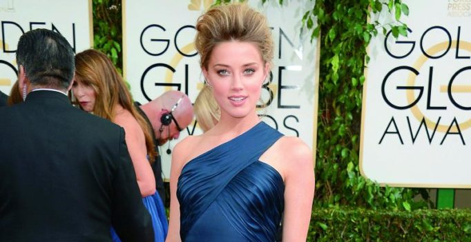 Amber Heard donates to domestic violence charity