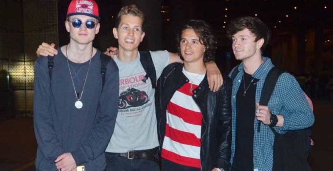 After their collab with Vishal-Shekhar, UK boy band The Vamps arrive in India!