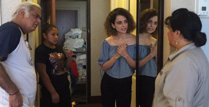 Inside pics: Kangana Ranaut starts prepping for Simran in Atlanta