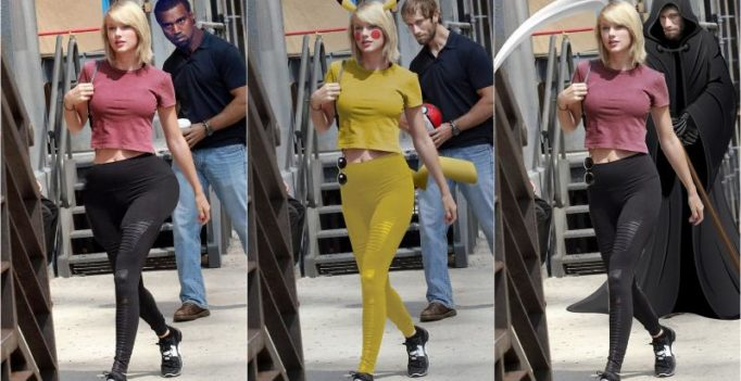Trolled! Guy caught staring at Taylor Swift, Internet reacts with hilarious memes!