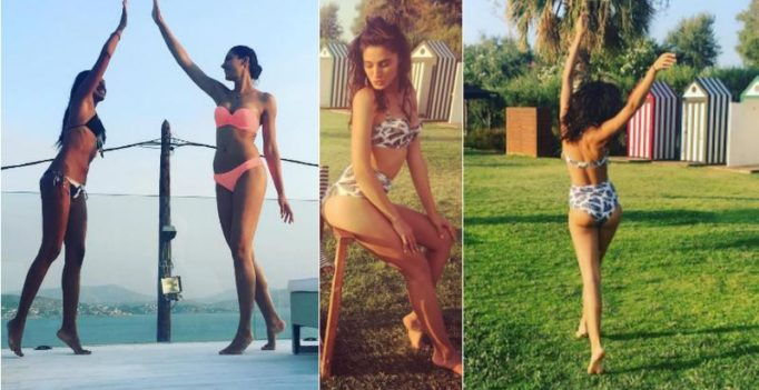 Nargis Fakhri's fresh bikini pictures from her Greek holiday are steaming hot!