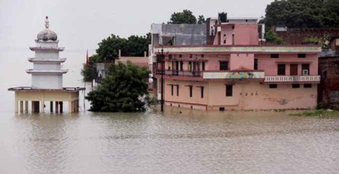Major rivers in Bihar, UP flowing above danger mark