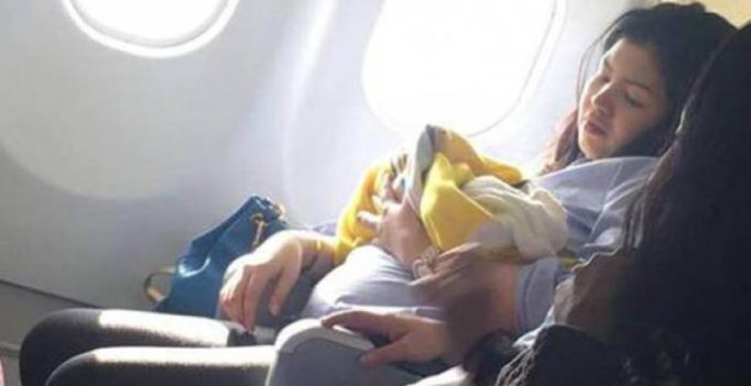 Baby born on plane flying from Dubai to Philippines gets free flights for life