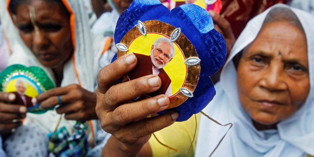 After Rakhi Sawant, Modi Ji Adorning Rakhis Now