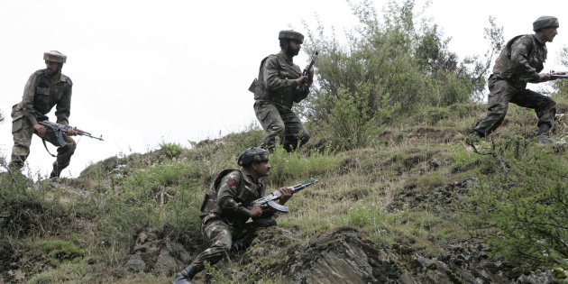 Two Soldiers, One Cop Killed As Militants Attack Army Convoy In Baramulla