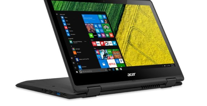 Acer unveils Spin series of convertible notebooks
