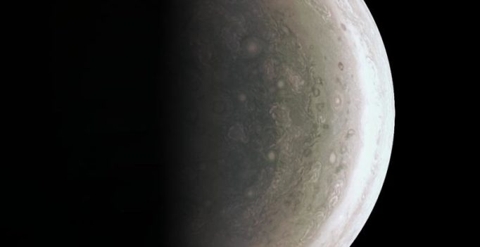 NASA spacecraft beams back close-up views of Jupiter's poles