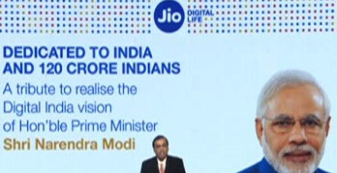 Reliance Jio starts at Rs 19/day, free voice calls, roaming: Mukesh Ambani