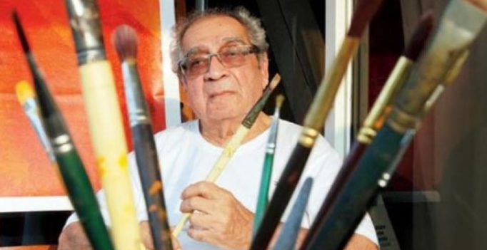 Akbar Padamsee's 'Greek Landscape' sells for Rs. 19 crores, sets record