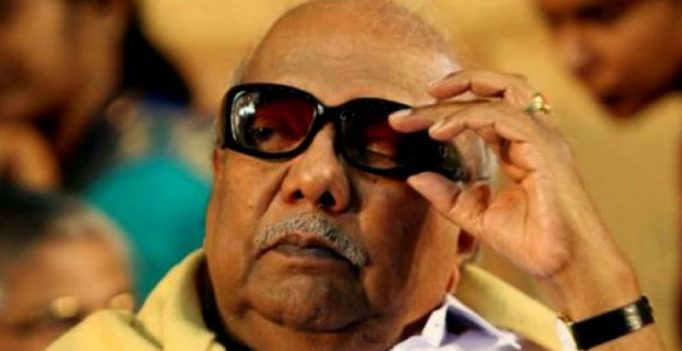 M Karunanidhi faults government for not convening all-party meet on Cauvery issue