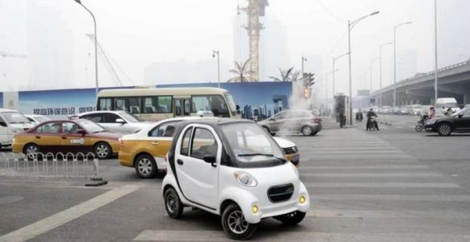China bans small electric vehicles from streets